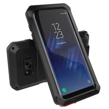 Metal Military Anti Knock Dustproof Shockproof Armor Case for Samsung Galaxy S8 S9 Plus S7 S6 Edge S5 S4 Note 8 5 4 3 S9 Cover