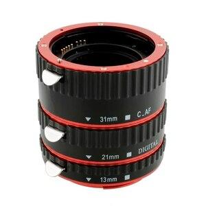 Image 2 - Mount Lens Adapter Auto Focus AF Macro Extension Tube Ring For Canon EOS EF S Lens 750D 80D 7D T6s 60D 7D 550D 5D
