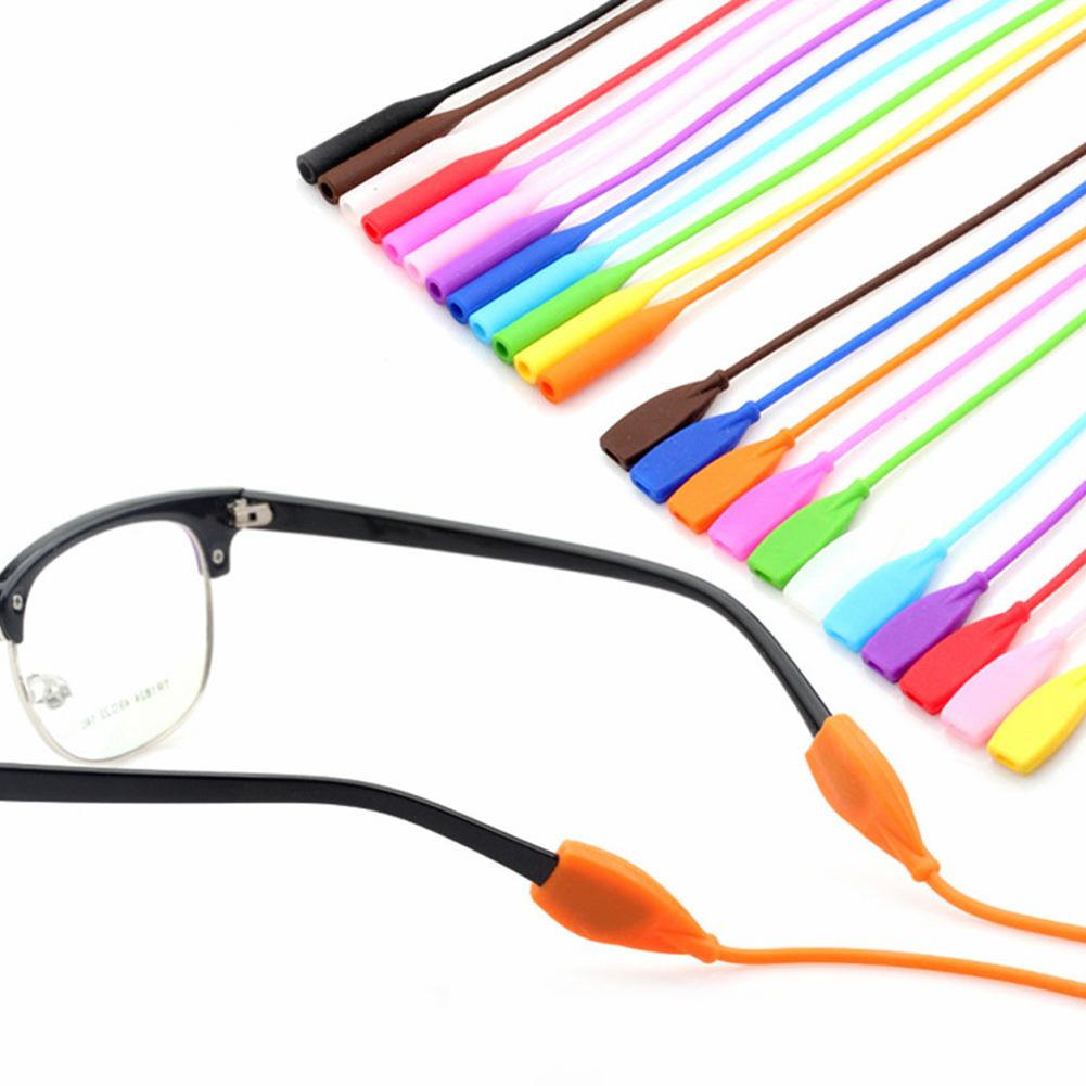 1 PC Adjustable Silicone Sports Eyeglasses Cord String Glasses Anti Slip Holder Chain Sports Ropes Band Cord for Children Kid