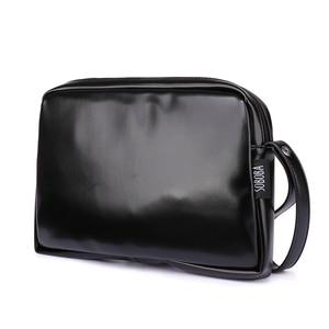 Image 1 - Классическая черная сумка для подгузников для мамы, водонепроницаемая Портативная сумка для подгузников из искусственной кожи, стильная сумка для смены большой емкости для ребенка