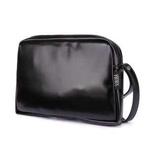 Image 1 - Bolso de pañales clásico negro para madre, impermeable, portátil, de PU, elegante, de gran capacidad, para bebé