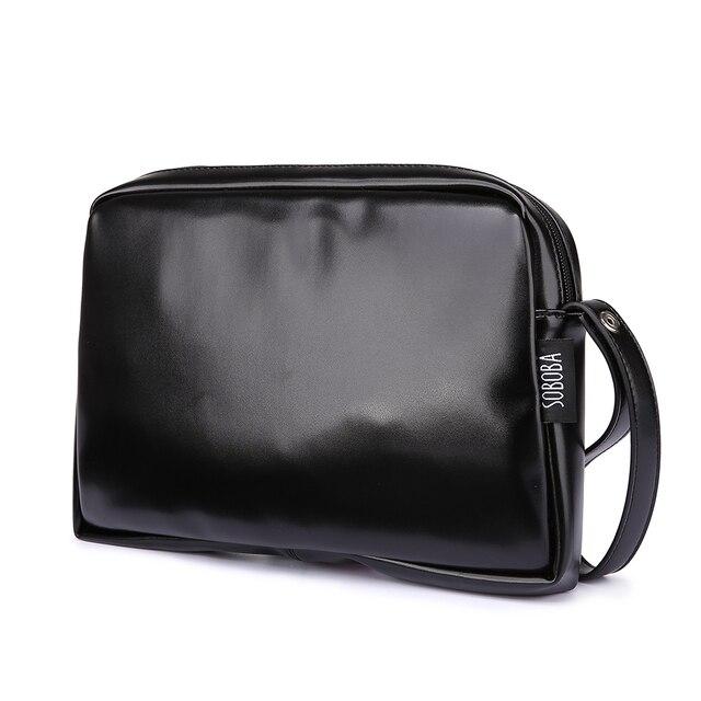 Bolso de pañales clásico negro para madre, impermeable, portátil, de PU, elegante, de gran capacidad, para bebé