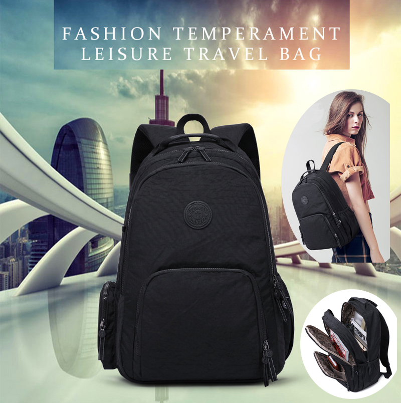 Top Quality Zipper Kipled Original Mochila Backpack Waterproof Casual Unisex Backpacks Laptop Bagpack Backpack