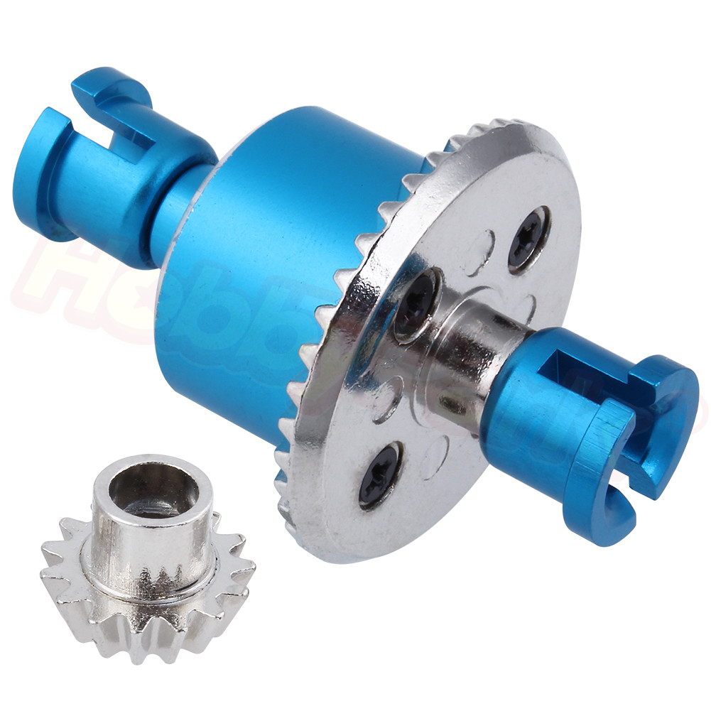 Front/Rear Metal Aluminum Differential Gear Set Diff Gear Bevel Gear A949-23 For WLtoys A959 A969 A979 1/18 RC Car Spare Parts