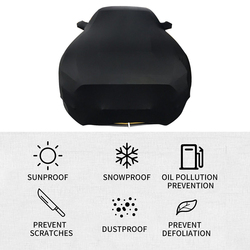 Чехол для автомобиля Солнцезащитный ветрозащитный пылезащитный устойчивый к царапинам УФ-защита для спортивного автомобиля