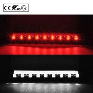 Image 4 - 2 IN 1 çok fonksiyonlu LED üçüncü fren lambası (kırmızı) + LED çalışan ışık (beyaz) Toyota Prius hibrid alfa Aqua(C)