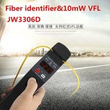 Darmowa wysyłka JW3306D identyfikator światłowodowy na żywo identyfikator światłowodowy z wbudowanym 10mw lokalizator uszkodzeń wizualnych
