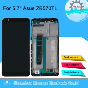 """Image 1 - Original  5.7""""M&Sen For Asus Zenfone Max Plus M1 ZB570TL X018DC LCD Screen Display+Touch Panel Digitizer With Frame  ZB570TL Lcd"""