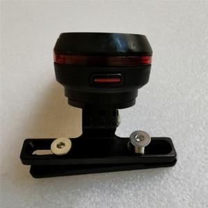 Image 3 - Siège de selle de feu arrière de vélo Support de Support de montage de poteau pour Garmin Varia Radar de recul/RTL510 accessoires de berceau de Support
