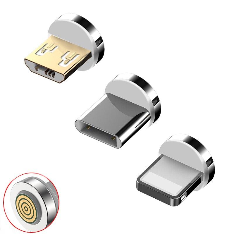 12 generación Cable magnético enchufe redondo adaptador de carga rápida consejos para iPhone XS MAX XR 8 + samusgng Xiaomi imán cargador de enchufes Mini cámara 160 grados HD 1080P DVR micrófono incorporado FPV microcámara de acción con Cable para RC Drone parte Accesorios