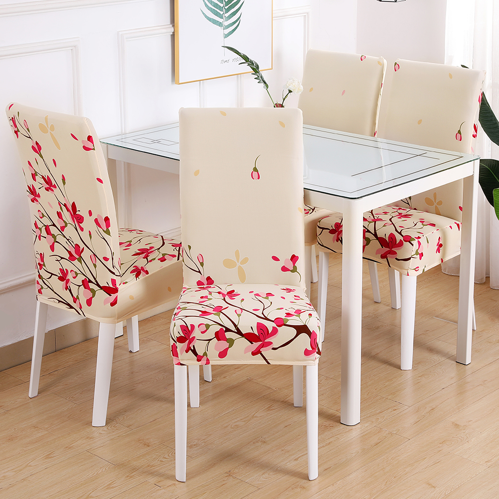 Chair Cover Dining Seat Cover Protector Multi-style All seasons Elastic 03