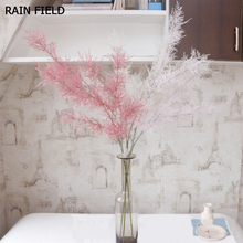 Artificial Flower Fog Rime Decoration Arrangement with Pine and Grass for Wedding Party