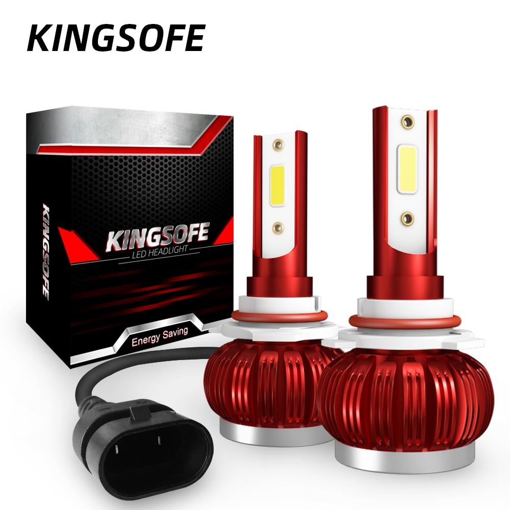 One Pair LED Bulb 10000LM Headlight H7 H4 Hi/Lo Beam H1 H11 9005 9006 Auto Led Head Light Car Styling Lamps 6000K Cold White