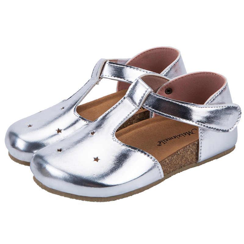 子供の革の靴 2020 新スタイル春韓国スタイル GIRL 'S 靴ベビーキッズ抗スリップ中空アウト BOY' S