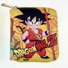 Anime Dragon Ball Z Mini Wallets Japanese Cartoon Movies Gok