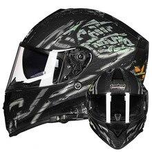 Vcoros T127 Full Face motorcycle helmet Vintage Man Woman Original Helm