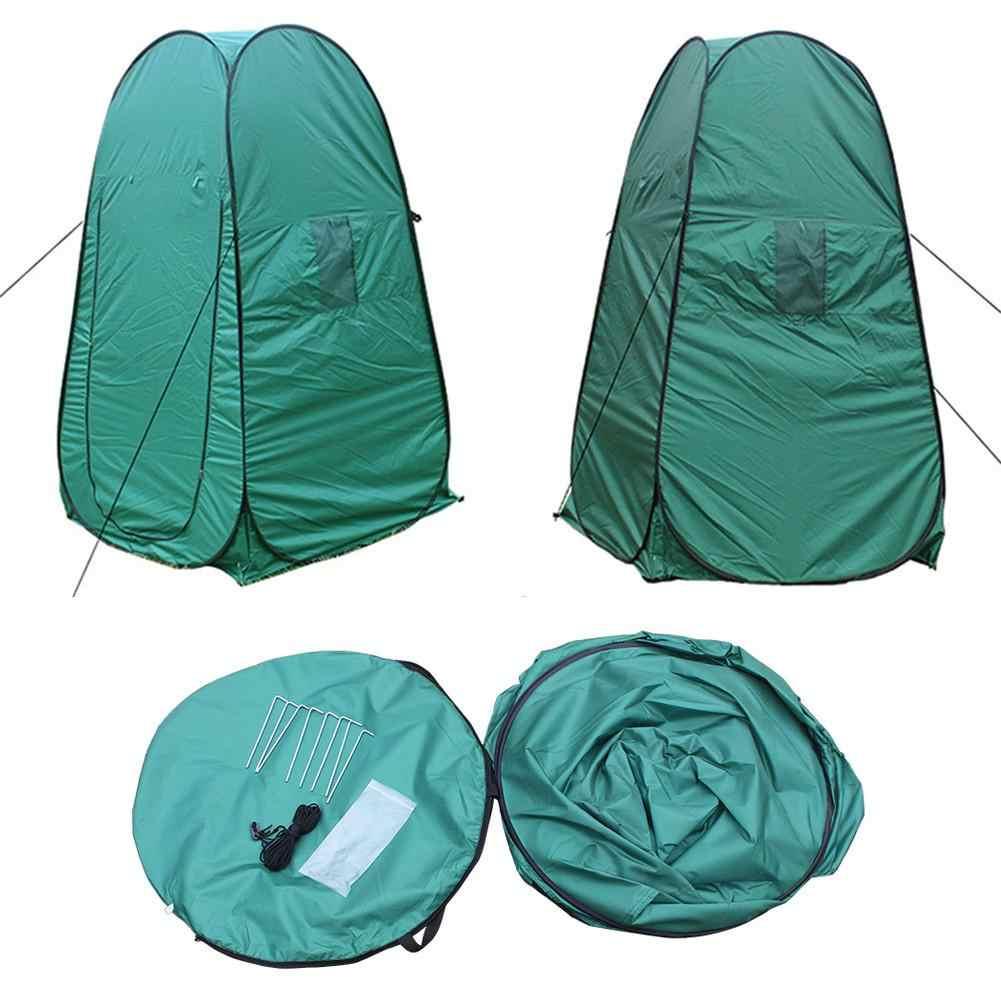 Outdoor Camping Piscine Portable Pop Up Douche Salle De Bains Stand avec 20 L Douche Nouveau Sac