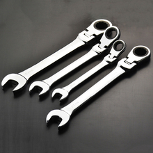 Flexible Head Combination Ratchet  Wrench Dual use Ratchet Wrench  tools