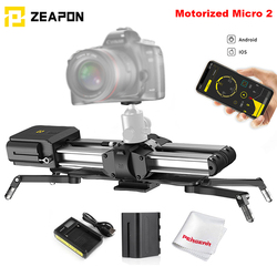 Zeapon electric Micro 2 camera rail slider portable aluminum alloy rail slider for Easylock 2 slim mount with single mirror