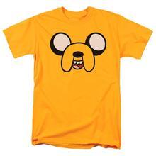 Adventure Time Jake The Dog Cartoon Network T Shirt & Exclusive Stickers Short Sleeves Cotton Fashion T Shirt Free Shipping лонгслив printio джейк jake the dog
