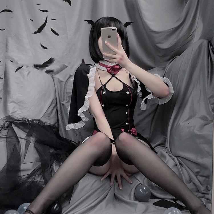 Горячее сексуальное нижнее белье комплект косплей демона Слуга
