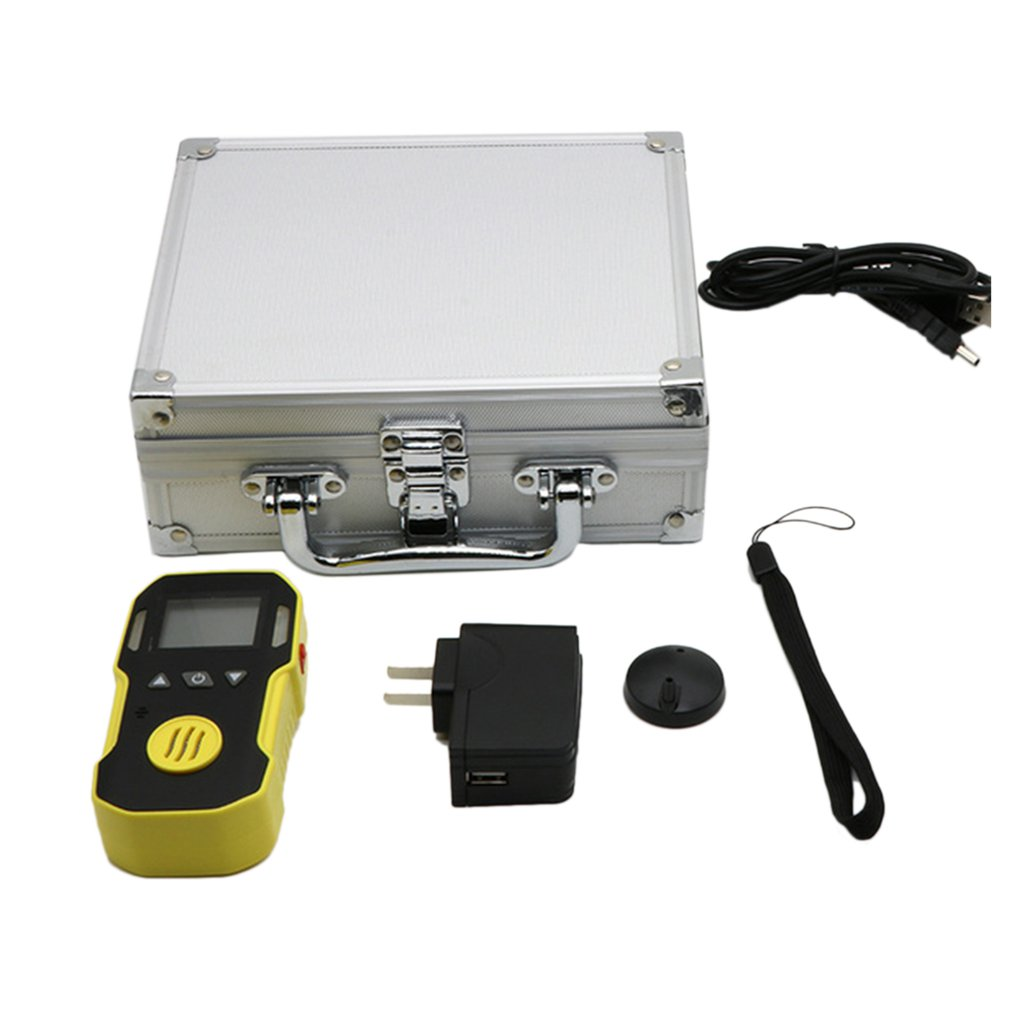 Portable Voc Detector Advanced Mcu For Low-Power Consumption Self-Test Function Adjustable Alarms