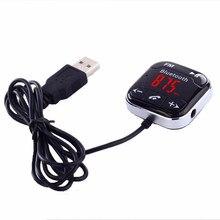 Auto Senza Fili di Bluetooth FM Trasmettitore Kit MP3 Player Remote Vivavoce Nero