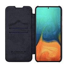 Для samsung Galaxy A71 чехол Nillkin QIN Серия Бумажник Защитный флип кожаный чехол для samsung Galaxy A51 A71 чехол