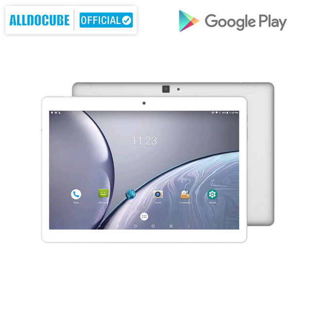 alldocube m5x 10.1 inch  android 8.0 tablet pc mtk x27 2560*1600 ips  deca core 4g phone call tablets 4gb ram 64gb rom dual wifi