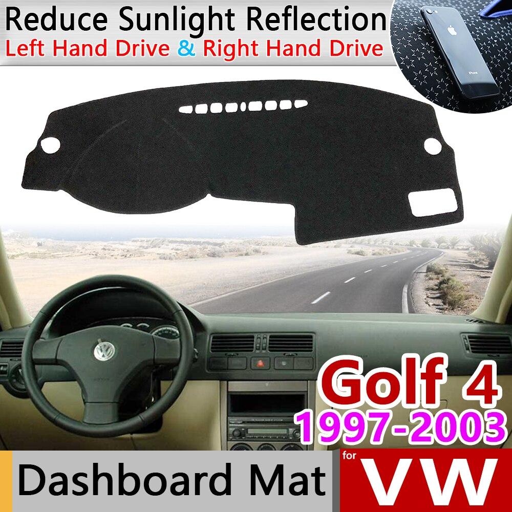 For Volkswagen VW Golf 4 MK4 1997~2003 1J Anti-Slip Mat Dashboard Cover Pad Sunshade Carpet Dashmat Accessories 1999 2000 2002