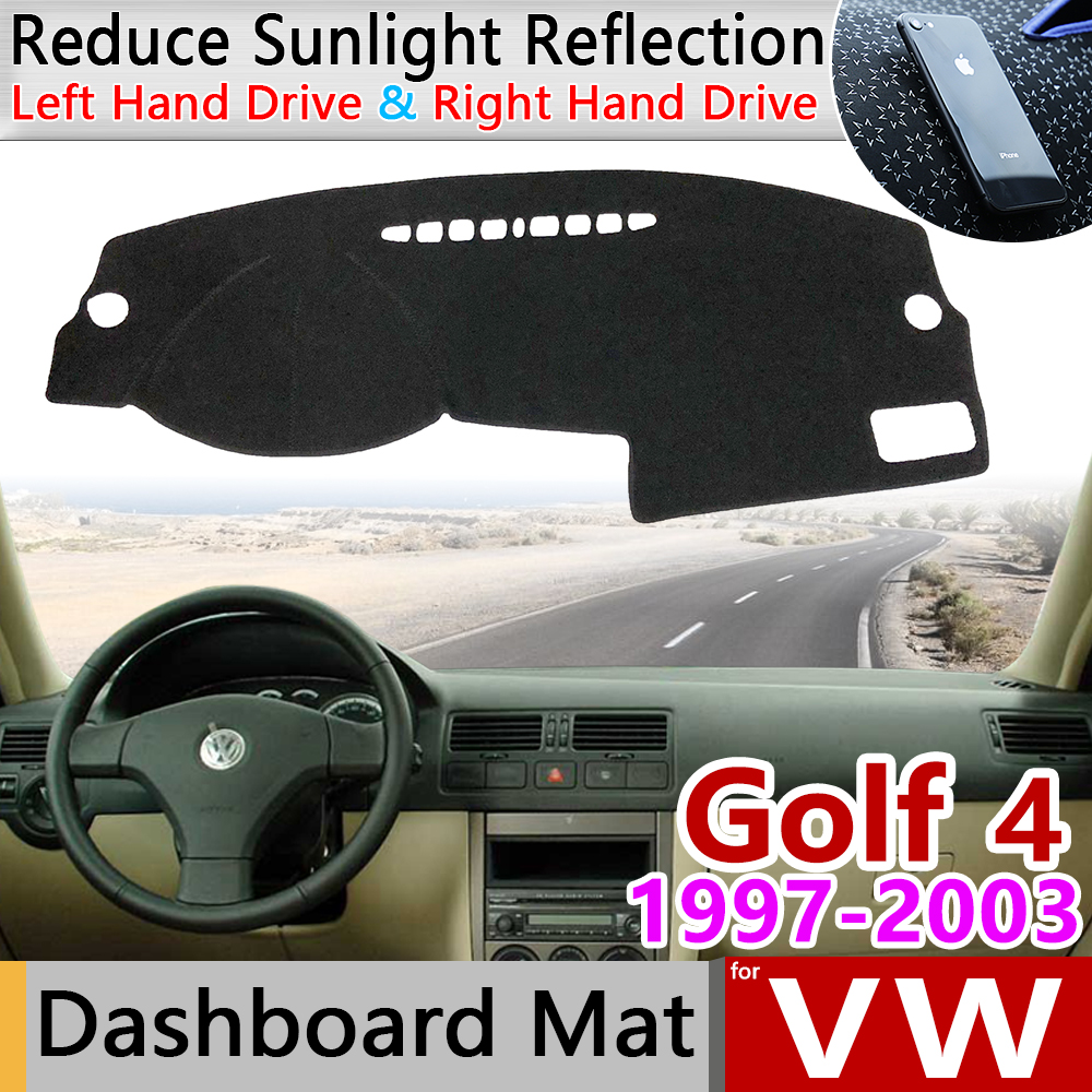 for Volkswagen VW <font><b>Golf</b></font> <font><b>4</b></font> MK4 1997~2003 1J Anti-Slip Mat Dashboard Cover Pad Sunshade Carpet Dashmat Accessories 1999 2000 2002 image