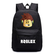 Robloxer game casual backpack for teenagers Kids Boys Unisex Laptop Bags Children Student School Bags travel Shoulder Kid(China)