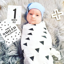 цена 100% Cotton Muslin Squares Swaddle Children's Blanket Newborn Swaddle Blankets Muslin Cotton Baby Blanket Organic Swaddle Bebe онлайн в 2017 году