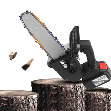 Mini Chainsaw Firewood-Cutting Cordless Felling Tree Powerful 12-Inch Electric 21V