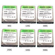 2.5 calowy dysk twardy SATA III 5400 RPM z 80GB 120GB 160GB 250GB 320GB 500GB wewnętrzny dysk twardy do laptopa komputer stancjonarny