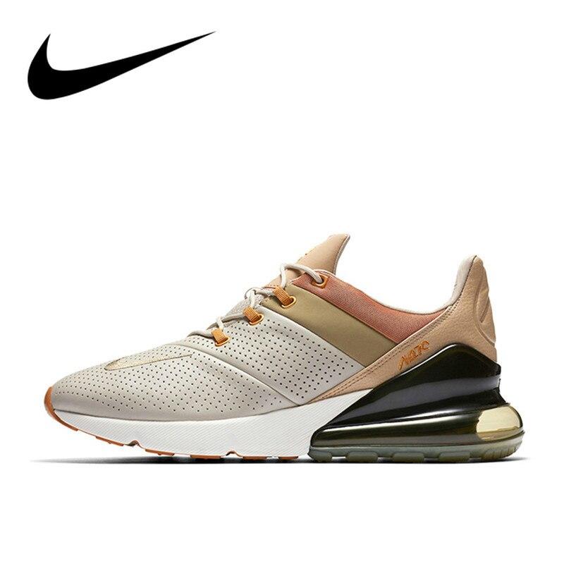 Original Autêntico Nike Air Max 270 Premium Running Shoes Esporte Ao Ar Livre dos homens Ao Ar Livre Sapatilhas Atlético Calçado Designer AO8283