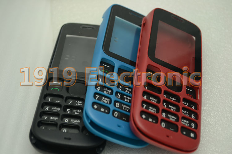 New Housing Cover Case with English Or Russian Keypad For Nokia 1000 100 + Tracking