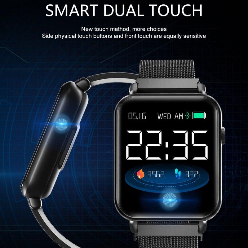 HETNGSYOU Y6 Pro Bracelet intelligent fréquence cardiaque pression artérielle oxygène Fitness Tracker montre intelligente étanche sport bande intelligente