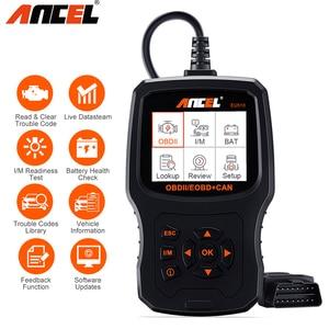 Image 1 - Ancel EU510 OBD2 Scanner Code Reader Auto Battery Tester Auto Diagnostic OBD 2 Automotive Scanner Car Diagnostics Tool PK ELM327