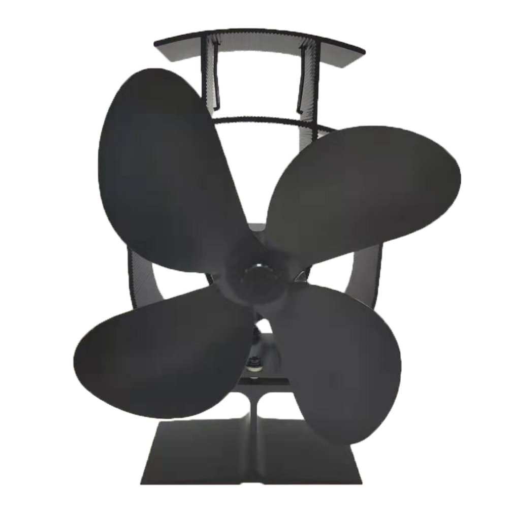 Into Energy Without Using Any Battery Or Electricity Heat Powered Stove Fan Silent Heat Powered Stove Fan Fireplace