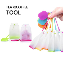 Silicone Tea Bags Colorful Style Strainers Herbal Infusers Filters Scented Tea Tools Food-grade Kitchen Accessories Sloth Bag