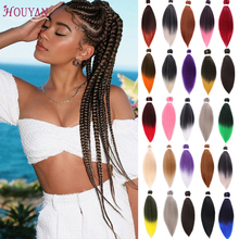 HOUYAN Stretch braided hair extension hair braid