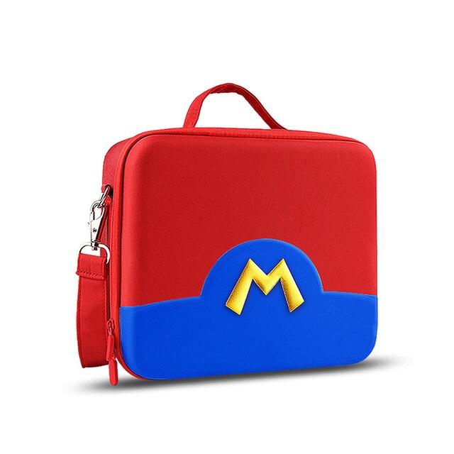 IBen Bolsa de almacenamiento portátil, Estuche de transporte de carcasa EVA para Nintendo Switch, accesorios resistentes al agua