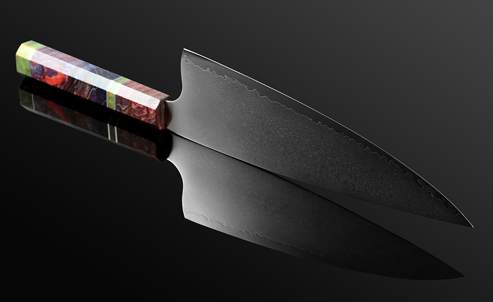 Traditional Chinese Master 67 Layer Japanese Damascus Steel 8 Inch Sharp Cleaver Knife 1