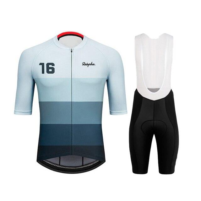 2020 ralvpha conjuntos de camisa roupas ciclismo pro bicicleta estrada roupas curtas verão bicicleta topos triathlon skinsuit ciclo camisa 1