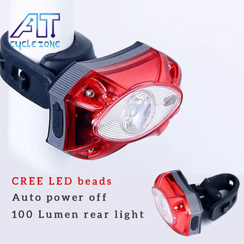 CREE 3W USB akumulator MTB potężne tylne światło latarka rowerowa latarnia dla rowerów światło tylne LED lampa światła rowerowe tanie i dobre opinie cycle zone NONE CN (pochodzenie) 2268 Sztyc rowerowa Baterii Raypal 3w usb rear light LEDs Battery Seatpost 3 7V 800MAH
