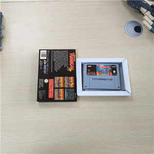 Image 2 - Super Turrican 2   EUR Version Action Game Card with Retail Box