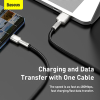 Baseus 5A USB Type C Cable QC3.0 Fast Charging Phone Cable for Xiaomi 9 USB C Charger Cable for Huawei P40 Pro P30 Mate 30 Pro