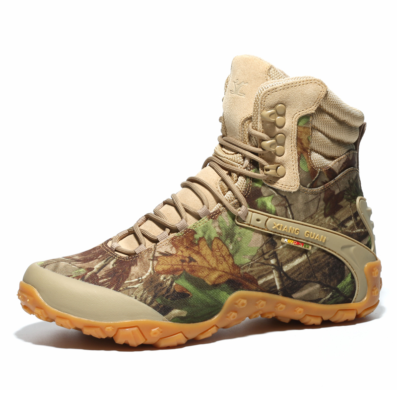 Hot Sale Spring/Autumn Man High Quality Boots Fashion Camouflage Boots For Men Waterproof Mens Tactical Boots Anti-Slip Hunting Boot