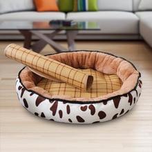 Fashionable new multi-color summer mat pet nest Four seasons universal comfortable cat litter kennel